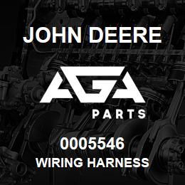 0005546 John Deere Wiring Harness | AGA Parts