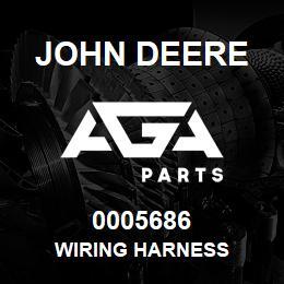 0005686 John Deere Wiring Harness