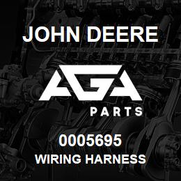0005695 John Deere WIRING HARNESS