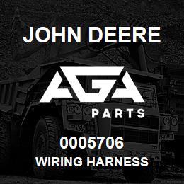 0005706 John Deere WIRING HARNESS