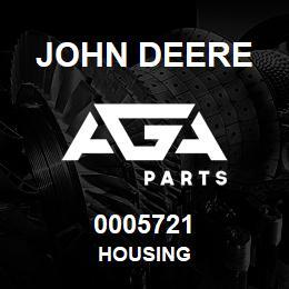 0005721 John Deere Housing | AGA Parts