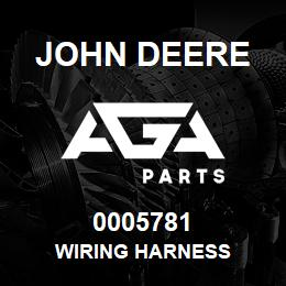 0005781 John Deere Wiring Harness | AGA Parts