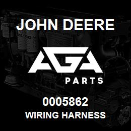 0005862 John Deere WIRING HARNESS