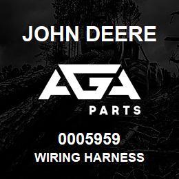 0005959 John Deere Wiring Harness