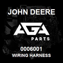 0006001 John Deere WIRING HARNESS | AGA Parts