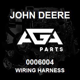 0006004 John Deere WIRING HARNESS