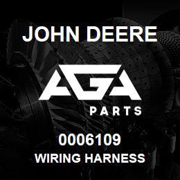 0006109 John Deere Wiring Harness