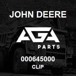 000645000 John Deere CLIP