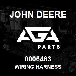 0006463 John Deere WIRING HARNESS | AGA Parts