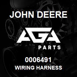 0006491 John Deere WIRING HARNESS