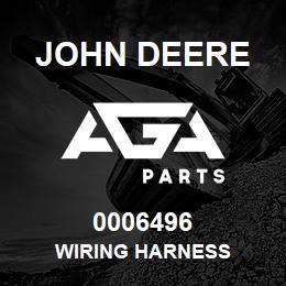 0006496 John Deere WIRING HARNESS