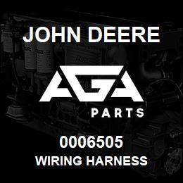 0006505 John Deere WIRING HARNESS