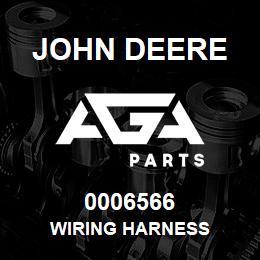 0006566 John Deere WIRING HARNESS | AGA Parts