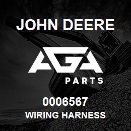 0006567 John Deere WIRING HARNESS | AGA Parts