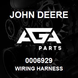 0006929 John Deere Wiring Harness | AGA Parts