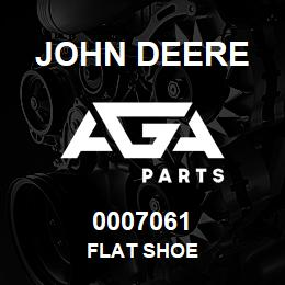 0007061 John Deere FLAT SHOE | AGA Parts