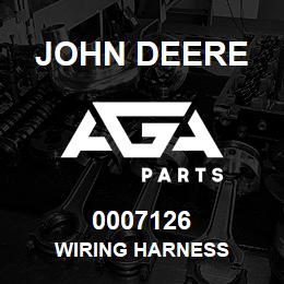 0007126 John Deere WIRING HARNESS | AGA Parts