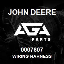 0007607 John Deere WIRING HARNESS   AGA Parts