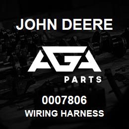 0007806 John Deere WIRING HARNESS | AGA Parts