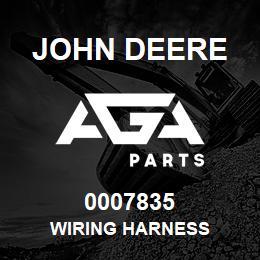 0007835 John Deere Wiring Harness   AGA Parts