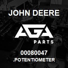 00080047 John Deere .POTENTIOMETER | AGA Parts