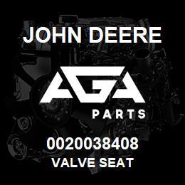 0020038408 John Deere Valve Seat | AGA Parts