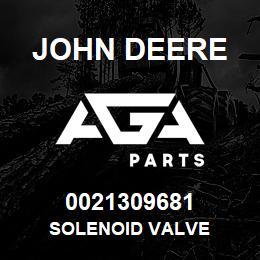 0021309681 John Deere Solenoid Valve | AGA Parts