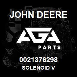 0021376298 John Deere SOLENOID V   AGA Parts