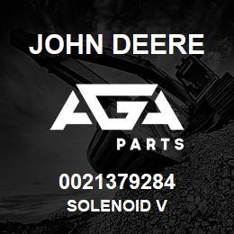 0021379284 John Deere SOLENOID V | AGA Parts