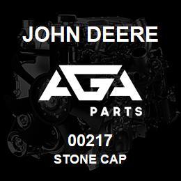 00217 John Deere STONE CAP | AGA Parts