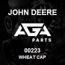 00223 John Deere WHEAT CAP | AGA Parts