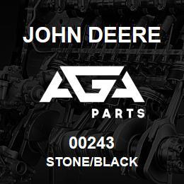 00243 John Deere STONE/BLACK | AGA Parts