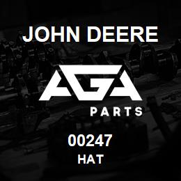 00247 John Deere HAT | AGA Parts