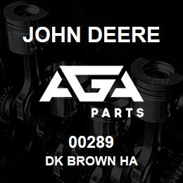 00289 John Deere DK BROWN HA | AGA Parts