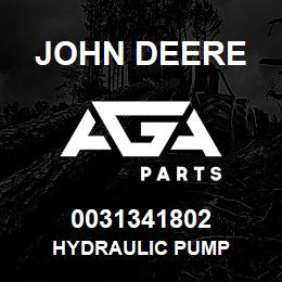 0031341802 John Deere HYDRAULIC PUMP | AGA Parts