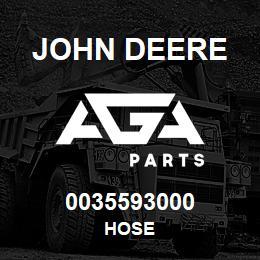 0035593000 John Deere HOSE | AGA Parts