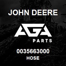 0035663000 John Deere HOSE | AGA Parts