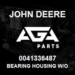0041336487 John Deere Bearing Housing W/O Bearing | AGA Parts