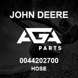 0044202700 John Deere Hose | AGA Parts