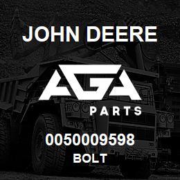 0050009598 John Deere Bolt | AGA Parts