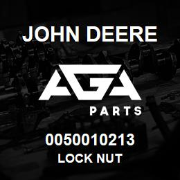 0050010213 John Deere Lock Nut | AGA Parts