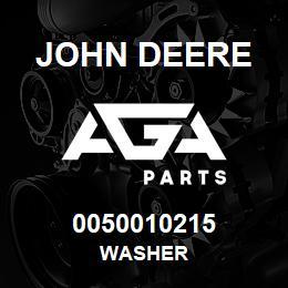 0050010215 John Deere Washer | AGA Parts