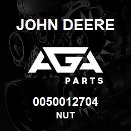 0050012704 John Deere Nut | AGA Parts