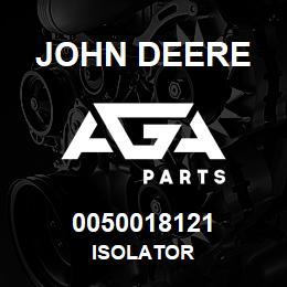0050018121 John Deere Isolator | AGA Parts
