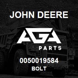 0050019584 John Deere BOLT | AGA Parts