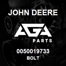 0050019733 John Deere Bolt   AGA Parts
