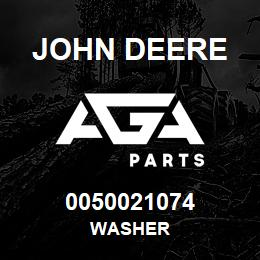 0050021074 John Deere Washer | AGA Parts