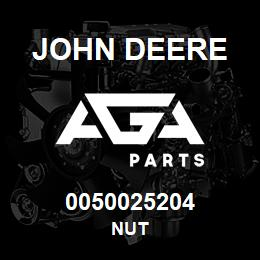 0050025204 John Deere Nut | AGA Parts