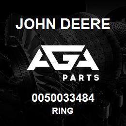 0050033484 John Deere Ring | AGA Parts