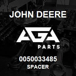 0050033485 John Deere Spacer | AGA Parts